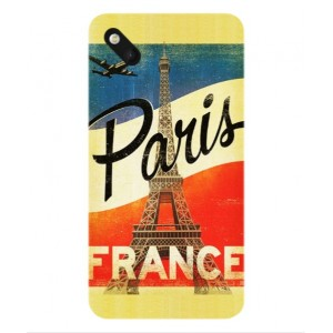 Coque De Protection Paris Vintage Pour Wiko Sunset 2