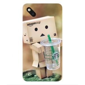 Coque De Protection Amazon Starbucks Pour Wiko Sunset 2
