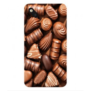 Coque De Protection Chocolat Pour Wiko Sunset 2