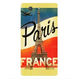 Coque De Protection Paris Vintage Pour Sony Xperia Z3 Compact