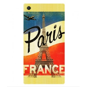 Coque De Protection Paris Vintage Pour Sony Xperia Z5