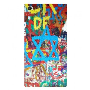 Coque De Protection Graffiti Tel-Aviv Pour Sony Xperia Z5