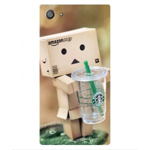 Coque De Protection Amazon Starbucks Pour Sony Xperia Z5 Compact