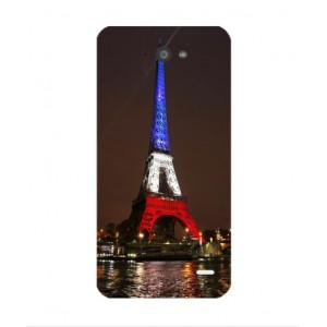 Coque De Protection Tour Eiffel Couleurs France Pour Orange Hi 4G