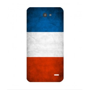 Coque De Protection Drapeau De La France Pour Orange Hi 4G