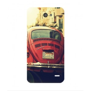 Coque De Protection Voiture Beetle Vintage Orange Hi 4G
