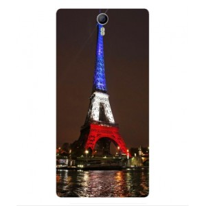 Coque De Protection Tour Eiffel Couleurs France Pour Orange Nura 2