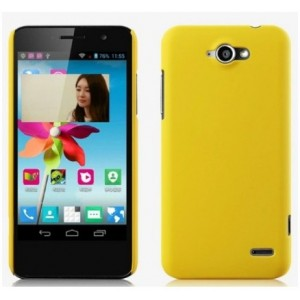 Coque De Protection Rigide Jaune Pour Orange Hi 4G