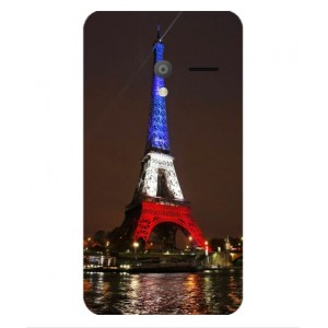 Coque De Protection Tour Eiffel Couleurs France Pour Orange Rise