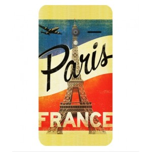 Coque De Protection Paris Vintage Pour Orange Rise