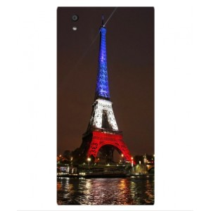 Coque De Protection Tour Eiffel Couleurs France Pour Orange Rono