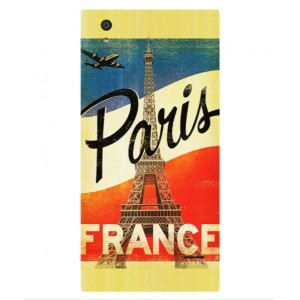 Coque De Protection Paris Vintage Pour Orange Rono