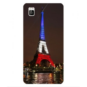 Coque De Protection Tour Eiffel Couleurs France Pour Huawei Shot X