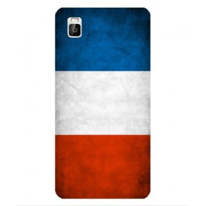 Coque De Protection Drapeau De La France Pour Huawei Shot X