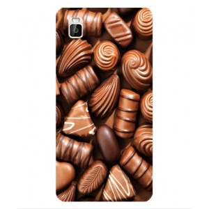 Coque De Protection Chocolat Pour Huawei Shot X