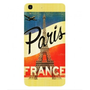 Coque De Protection Paris Vintage Pour Huawei Honor 4A