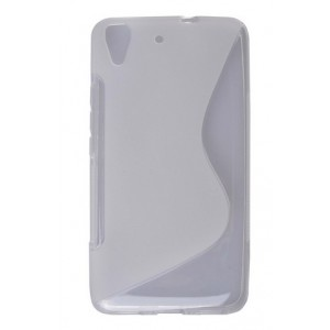 Coque De Protection En Silicone Blanc Pour Huawei Honor 4A