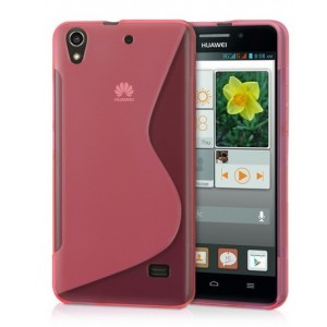 Coque De Protection En Silicone Rouge Pour Huawei Honor 4A