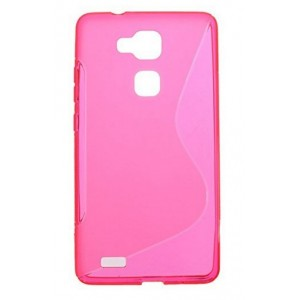 Coque De Protection En Silicone Rose Pour Huawei Honor 5x