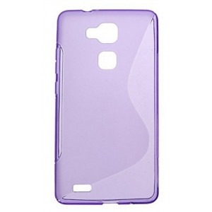 Coque De Protection En Silicone Violet Pour Huawei Honor 5x