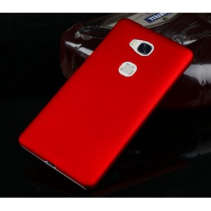 Coque De Protection Rigide Rouge Pour Huawei Honor 5x