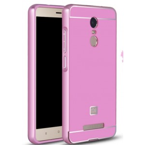 Protection Bumper Rose Pour Xiaomi Redmi Note 3