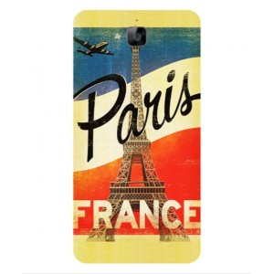 Coque De Protection Paris Vintage Pour Huawei Enjoy 5