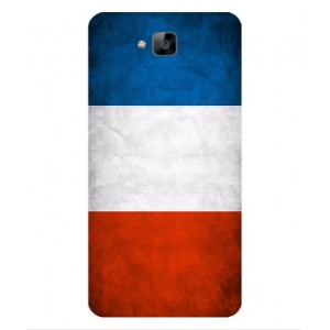 Coque De Protection Drapeau De La France Pour Huawei Enjoy 5