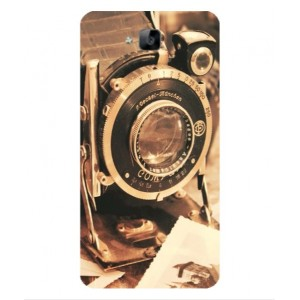 Coque De Protection Appareil Photo Vintage Pour Huawei Enjoy 5