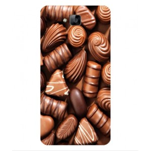 Coque De Protection Chocolat Pour Huawei Enjoy 5