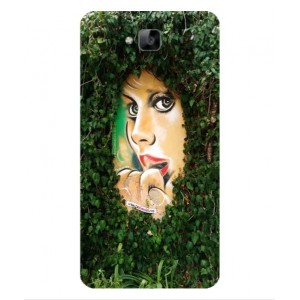 Coque De Protection Art De Rue Pour Huawei Enjoy 5