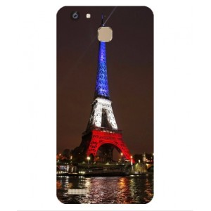 Coque De Protection Tour Eiffel Couleurs France Pour Huawei Enjoy 5s