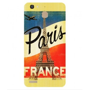 Coque De Protection Paris Vintage Pour Huawei Enjoy 5s