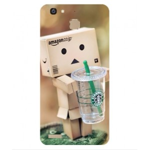 Coque De Protection Amazon Starbucks Pour Huawei Enjoy 5s