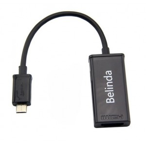 Adaptateur MHL micro USB vers HDMI Pour Vodafone Smart Ultra 6