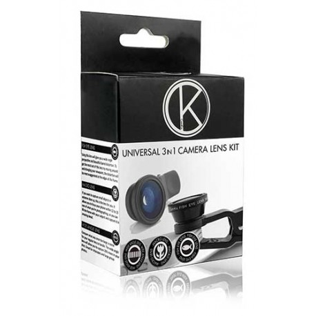 Kit Objectifs Fisheye - Macro - Grand Angle Pour Vodafone Smart Ultra 6