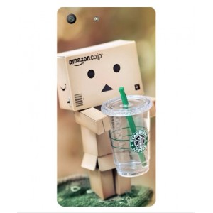 Coque De Protection Amazon Starbucks Pour Sony Xperia M5
