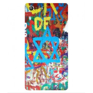Coque De Protection Graffiti Tel-Aviv Pour Sony Xperia M5