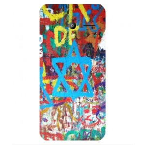Coque De Protection Graffiti Tel-Aviv Pour Vodafone Smart Speed 6
