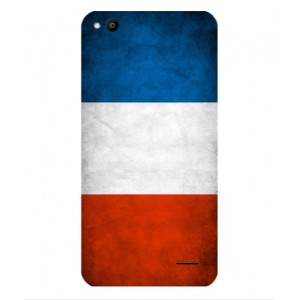 Coque De Protection Drapeau De La France Pour Vodafone Smart Ultra 6