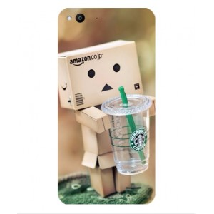 Coque De Protection Amazon Starbucks Pour Vodafone Smart Ultra 6