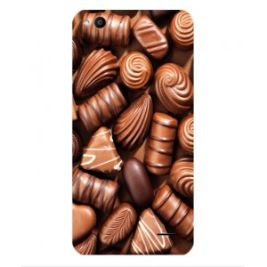 Coque De Protection Chocolat Pour Vodafone Smart Ultra 6