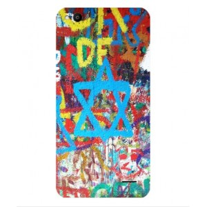 Coque De Protection Graffiti Tel-Aviv Pour Vodafone Smart Ultra 6