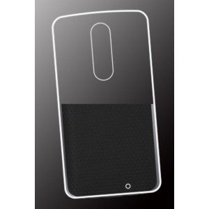 Coque De Protection En Silicone Transparent Pour Motorola Moto X Force