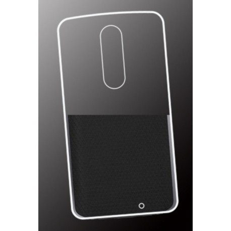 coque protection silicone transparent motorola moto x force. Black Bedroom Furniture Sets. Home Design Ideas