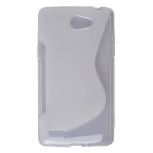 Coque De Protection En Silicone Transparent Pour LG Bello II