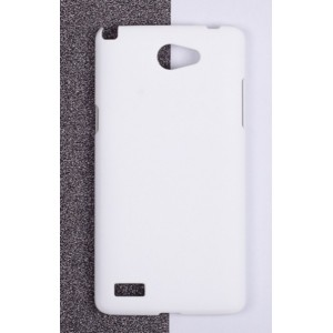 Coque De Protection Rigide Blanc Pour LG Bello II