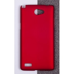 Coque De Protection Rigide Rouge Pour LG Bello II