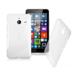 Coque De Protection En Silicone Transparent Pour Microsoft Lumia 640 XL LTE