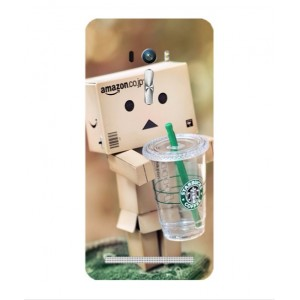 Coque De Protection Amazon Starbucks Pour Asus Zenfone 2 Laser ZE600KL